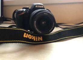 Nikon D3200 Digital SLR Camera & 18-55mm Lens.