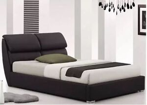 BRAND NEW MODERN PEDRO PU Leather Bed Frame Reservoir Darebin Area Preview