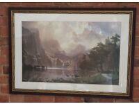Sierra Nevada framed print
