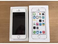 IPhone 5s 16gb White & Silver Unlocked (Perfect)
