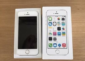 IPhone 5s 16gb White & Silver Unlocked