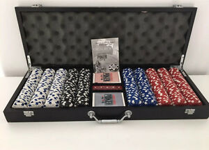 World Series Of Poker - 500 Piece Set & Storage Suitcase *NEW* Somerville Mornington Peninsula Preview