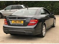 2011 Mercedes-Benz C Class 2,1 C250 CDI Sport BlueEFFICIENCY 3dr automatic 1 owner