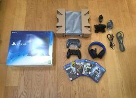 PlayStation 4 500GB Jet Black Bundle