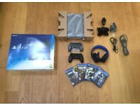 PlayStation 4 500GB Jet Black Bundle