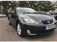 2006 LEXUS IS 220D - NEW MOT NO ADVISORY