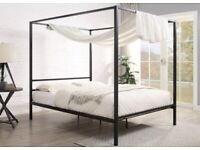 Four Poster Double Bed NEW IN BOX