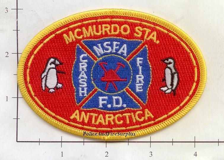 Antarctica - McMurdo NSFA Fire Dept Patch