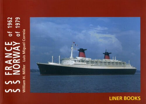 French Line - Maritime Book SS FRANCE of 1962  / SS NORWAY of 1979