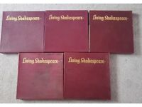 living shakespeare vinyl complete set boxed.