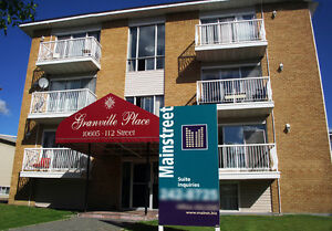 Nice 1 bedroom apartment with balcony at 10605-112 street NW Edm