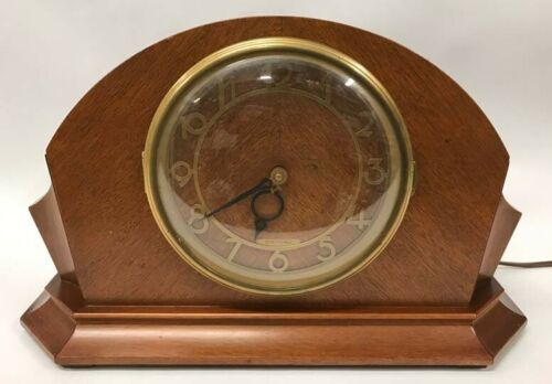 Seth Thomas Mantle Clock, Electric
