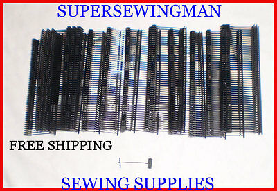 New 1000 Pcs. Black Standard Price Tag Tagging Tagger 1 Barbs Fasteners