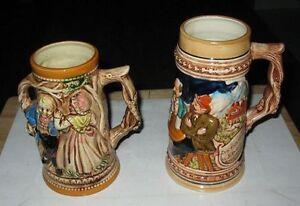 Ancien Bocks à Bière / Vintage Beer Mugs