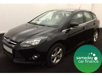 £141.64 BLACK 2011 FORD FOCUS 1.6 Ti VCT 125 ZETEC HATCH 5 DOOR PETROL MANUAL