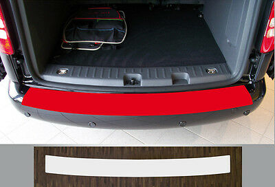 Ladekantenschutz Lackschutzfolie transparent VW Caddy 3, Life, Maxi ab 2004