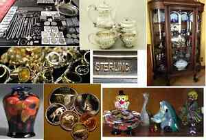 BUYING: Coin Collections, Jewellery, Sterling, Silver, Estates +