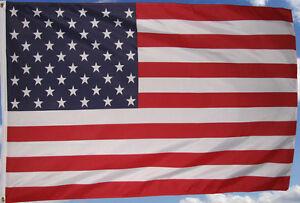 Amerikanische  Fahne   Flaggen  90 x150 cm mit 2 Ösen USA Flagge