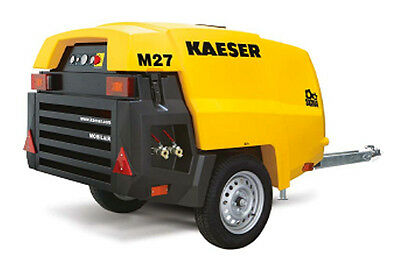 New Kaeser M27 Towable Diesel Air Compressor Tier Iv Final Kaeser M27