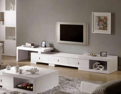 Brand New Retro Extendable TV Cabinet / TV Furniture Wetherill Park Fairfield Area Preview