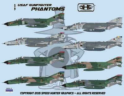 Used, Speed Hunter Graphics 48011 1/48 decal USAF F-4E Gunfighter Phantoms ANG for sale  Cape Coral