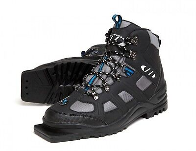 75mm Boot - New Whitewoods 301 75mm 3 Pin CROSS COUNTRY Insulated Ski Boots, EUR 36-49