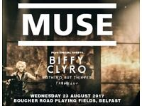 Muse and Biffy Clyro at Vital August 23rd