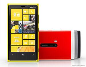 Black New original Nokia Lumia 920 32GB (Unlocked) Smartphone 4.5