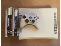 Xbox 360 Arcade version - with games