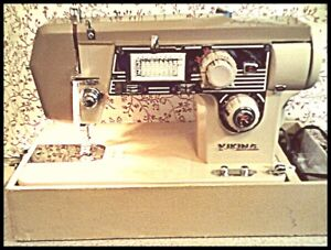 Vintage Viking Sewing Machine Model 1266 Quilting with 72 Stitch
