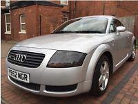Audi TT Coupe 1.8 (180bhp) 2001 Quattro (Low mileage) ONO