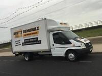 MAN AND VAN LARGE LUTON VAN WITH TAIL LIFT,07576209820,honest,friendly,reliable.