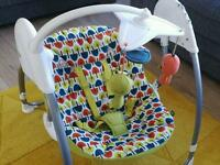 Mamas and Pappas baby swing
