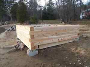 landscaping timbers Kawartha Lakes Peterborough Area image 1
