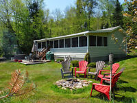 Waterfront Cottage For Sale - Ready for Fall Colours!