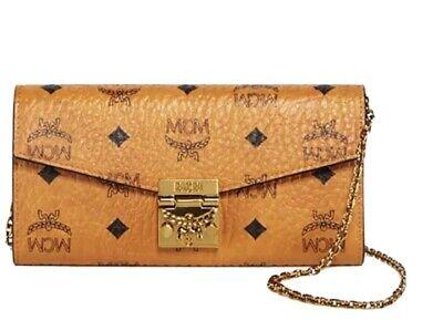 MCM, Authentic, Patricia Visetos Wallet-On-Chain, Cognac