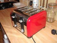 Russel Hobbs 4 slice toaster