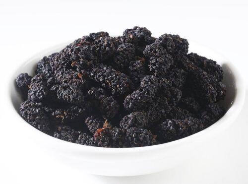 Organic Black Premium DRIED MULBERRIES Extra 5% buy $100+