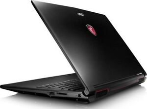 Gaming laptop portable MSI