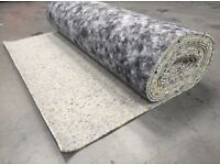 New Carpet Underlay £25 a roll (5 available) can deliver