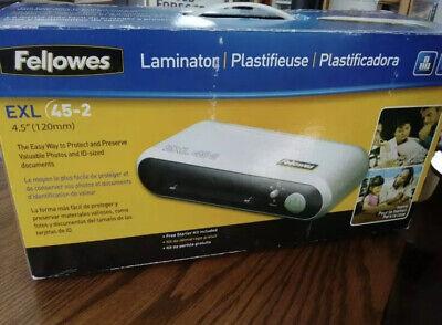 Fellowes Exl 45-2 4.5 120mm Laminator