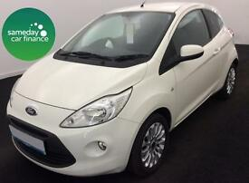 £111.64 PER MONTH FORD KA 1.2 ZETEC 3 DOOR HATCH PETROL MANUAL