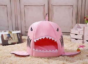 Cute shark bed for your pets
