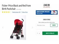 *NEW* Fisher Price From Birth Pushchair