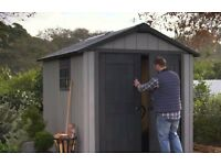 Keter Oakland Garden Shed 759, 2.87m x 2.42m Cheapest in UK !! Limited Stock !