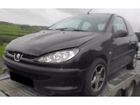 BREAKING 2003 PEUGEOT 206 1.4 DIESEL -- NO TEXTS PLEASE - NEWRY / ARMAGH