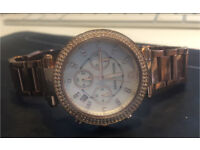 Rose Gold Michael Kors Watch For Sale