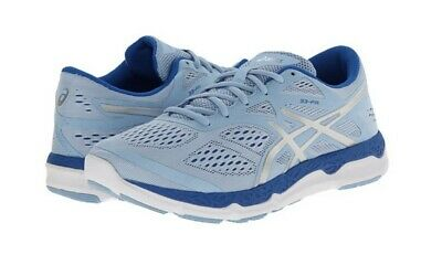 New ASICS Women's 33-FA Athletic Shoes, Powder Blue/Lightning/Blue, Size 9 B