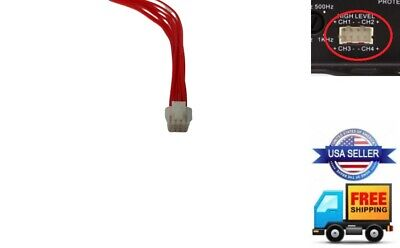 SLDIN.18 ZAPCO CAR AUDIO 18/' FOOT DIN SYMBILINK CABLE for AMP AMPLIFIERS NEW