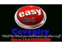 Easy Dazzit Coventry- Keto is Your Man with a Van in Coventry, Student Moves,Furniture Delivery